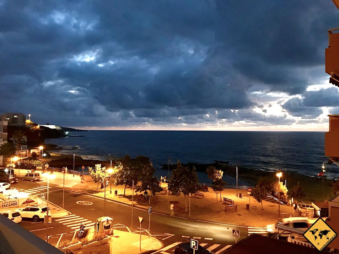 Bajamar Teneriffa Abend