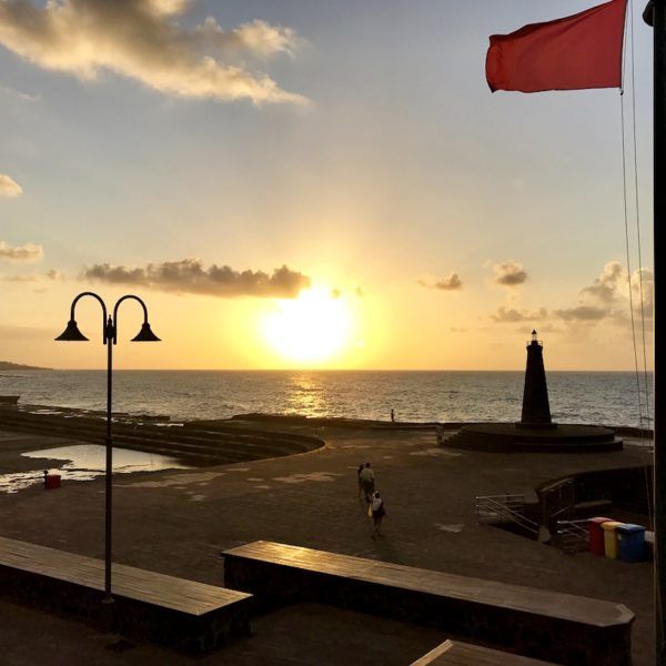 Bajamar Teneriffa rote Flagge