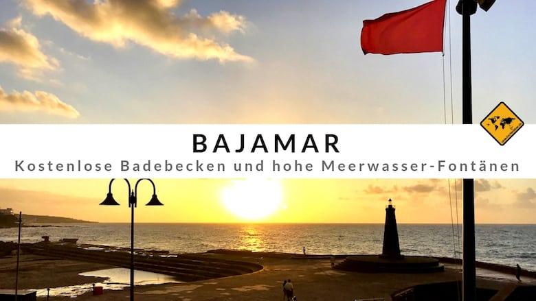 Bajamar Teneriffa