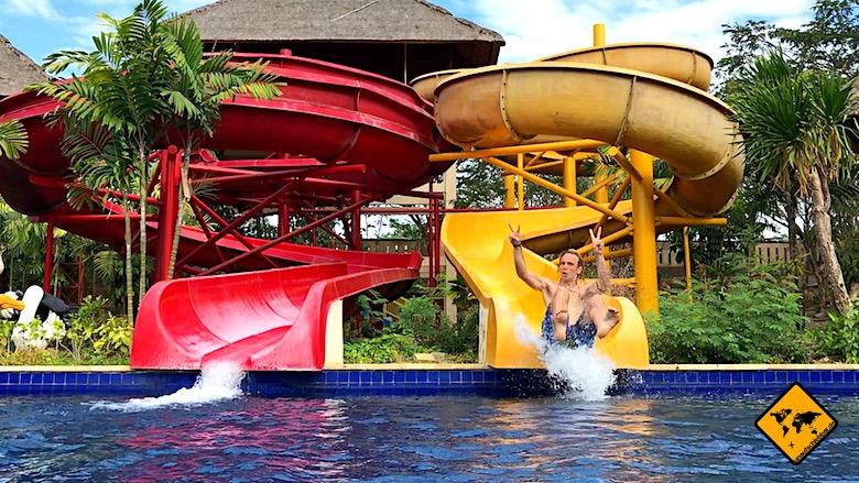 Bali Aktivitäten Dreamland Waterpark