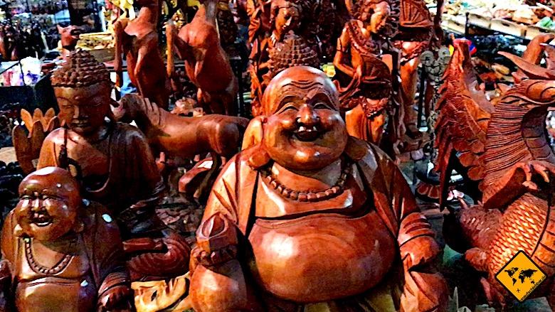 Bali Aktivitäten bei Regen shoppen