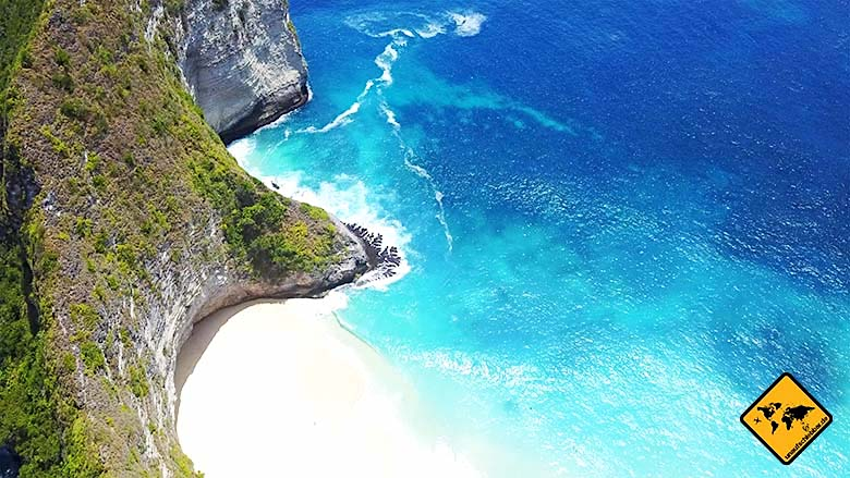 Bali Ausflüge Nusa Penida Kelingking Beach