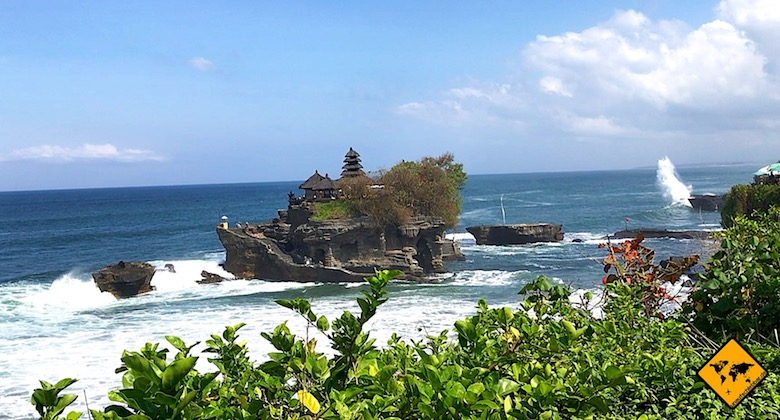 Bali Ausflüge Tanah Lot Tempel