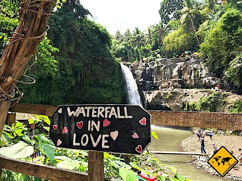 Bali Ausflüge Tegenungan Waterfall