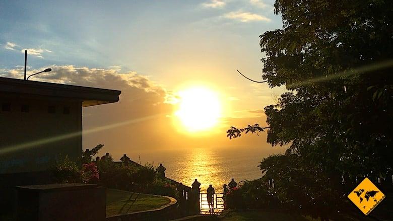 Bali Ausflüge Uluwatu Tempel Sonnenuntergang