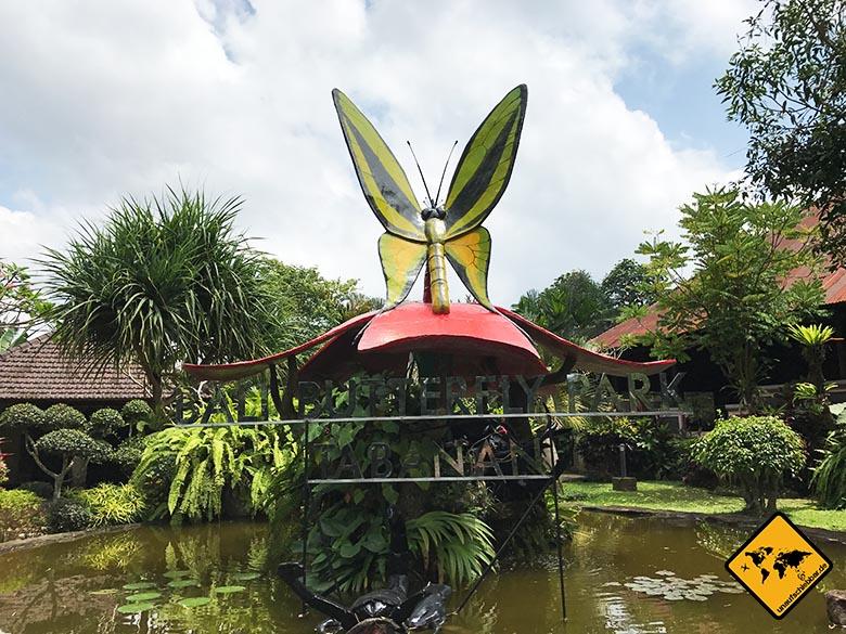 Bali Butterfly Park Taman Kupu Kupu