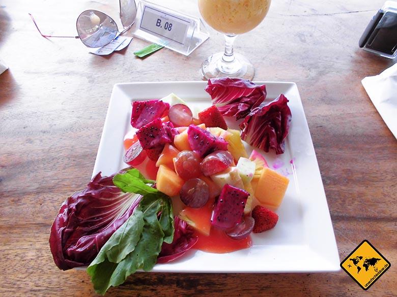 Bali Essen - balinesische Küche - Fruchtteller