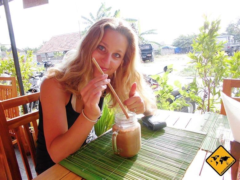 Bali Essen - balinesische Küche - Smoothie