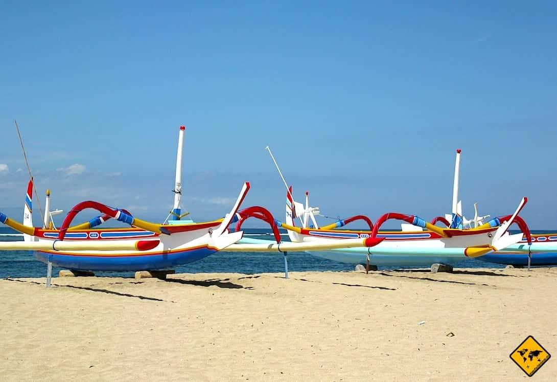 Bali Fischerboote Sanur