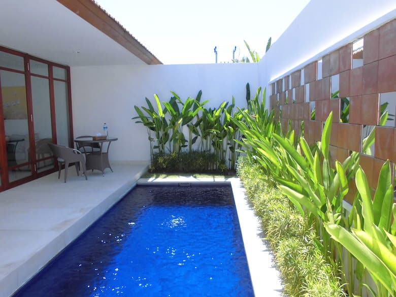 Bali Flitterwochen Privatpool
