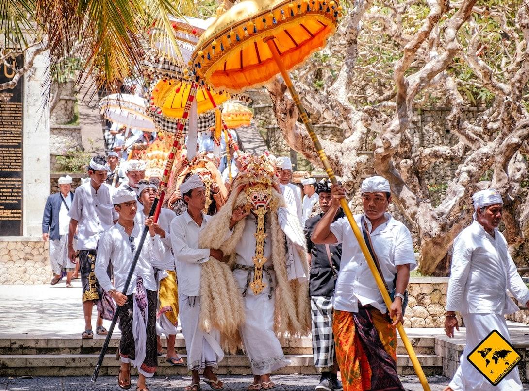 Bali Hindu-Zeremonie