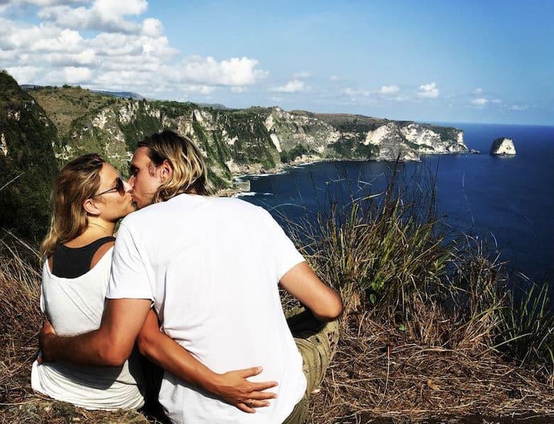 Bali Honeymoon Saren Cliff Point