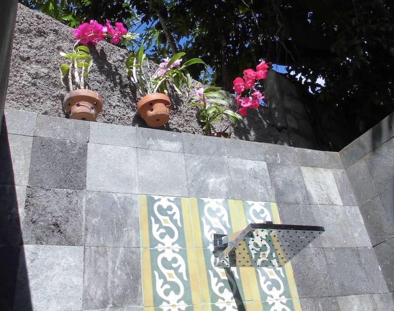 Bali Honeymoon offenes Bad