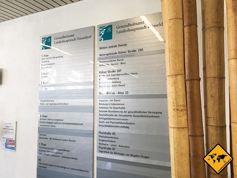 Bali Impfungen Gesundheitsamt Düsseldorf Anzeigentafel