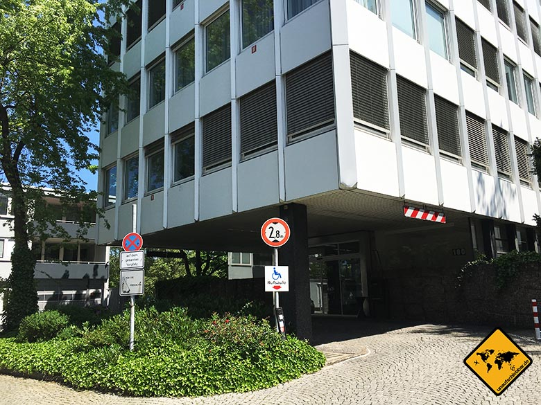 Impfungen Bali Gesundheitsamt Düsseldorf Gebäude