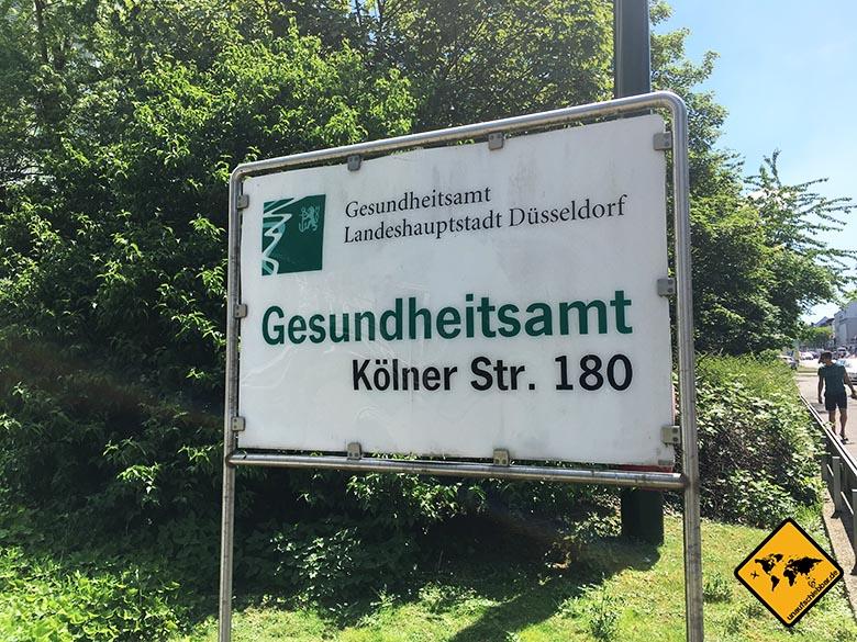 Impfungen Bali Gesundheitsamt Düsseldorf