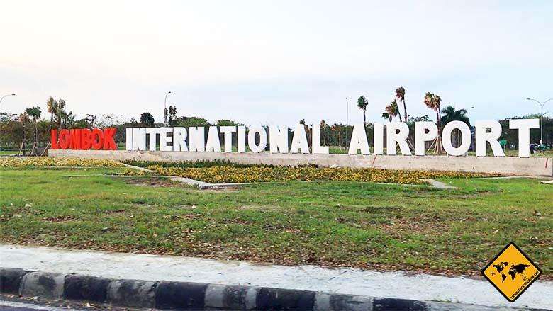 Bali Lombok Ankunft Airport