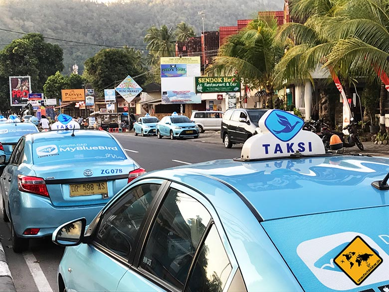 Bali Lombok Gili Rundreise Blue Bird Taxi