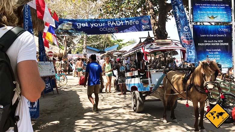 Bali Lombok Gili Rundreise Pferdekutsche