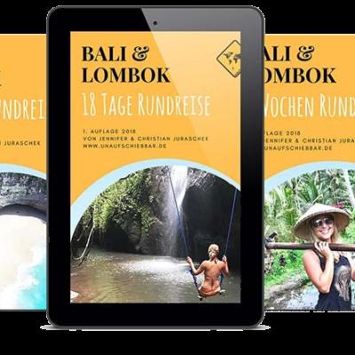 Bali Lombok Reiseführer Rundreise Cover