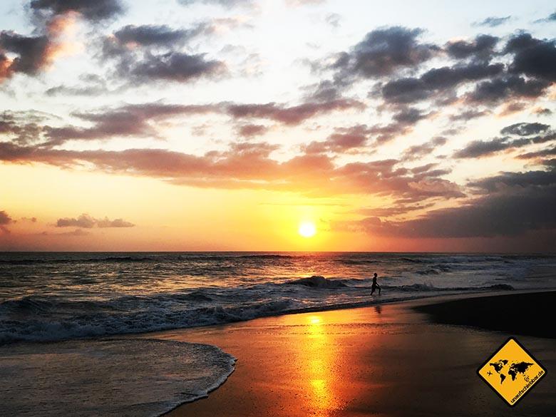Bali Lombok Rundreise Canggu Sonnenuntergang