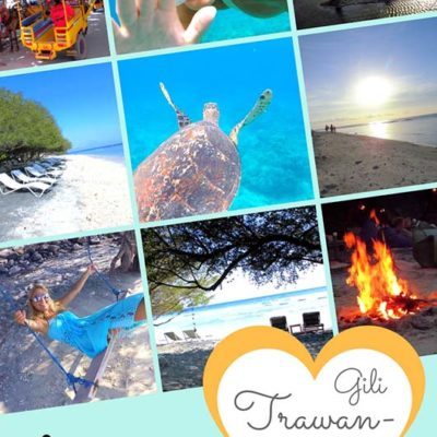 Bali Lombok Rundreise Reiseführer - Gili Trawangan 2 Wochen