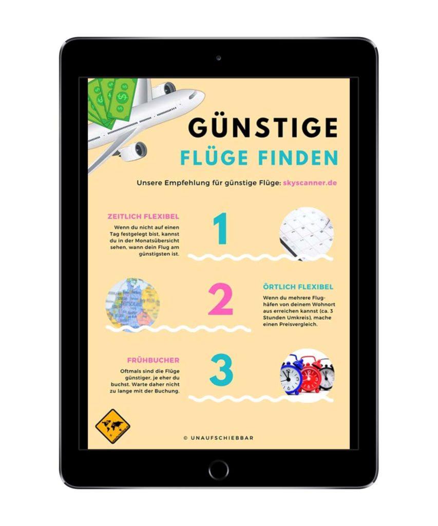 Bali Lombok Rundreise Reiseführer - Günstige Flüge finden iPad