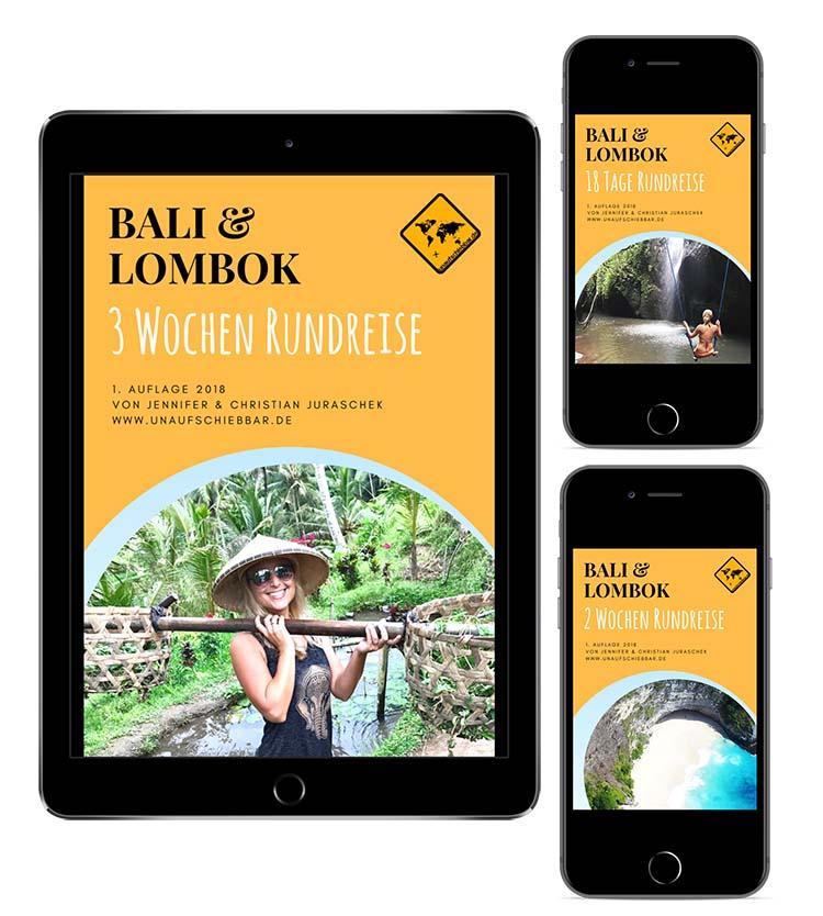 Bali Lombok Rundreise Reiseführer - iPad iPhone