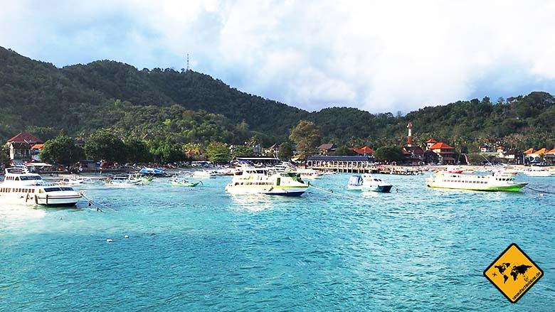 Bali Lombok Transfer Hafen Padang Bai