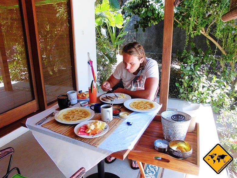 Bali Marina Villas Amed Fruehstueck