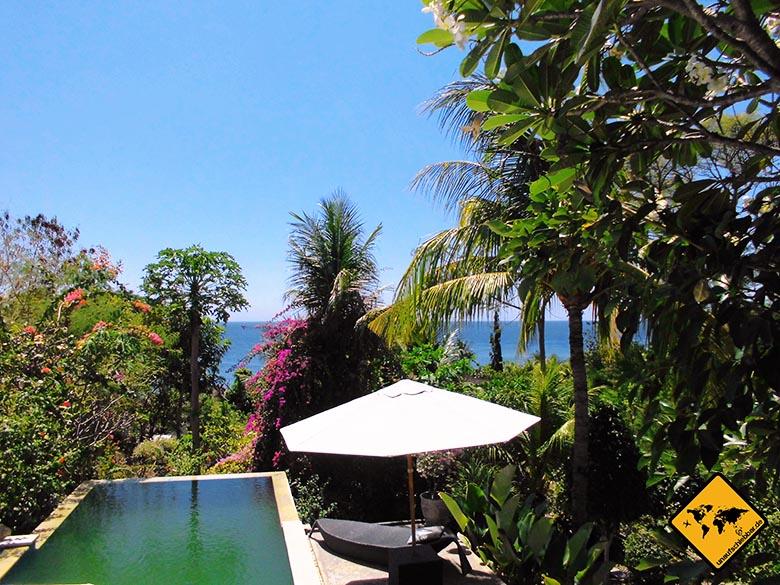 Bali Marina Villas Amed Pool Aussicht