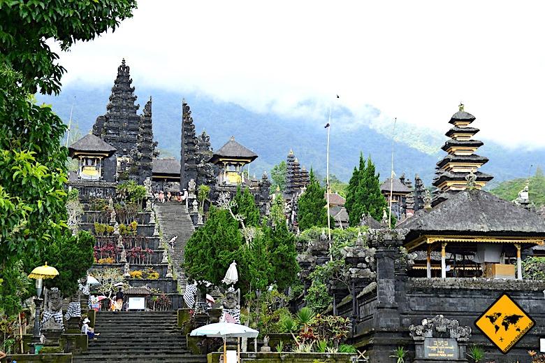 Bali Muttertempel Pura Besakih