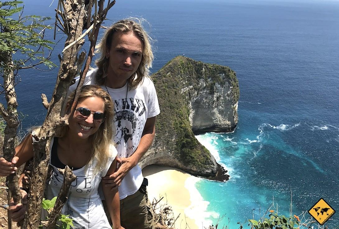 Bali Nusa Penida Kelingking Beach unaufschiebbar