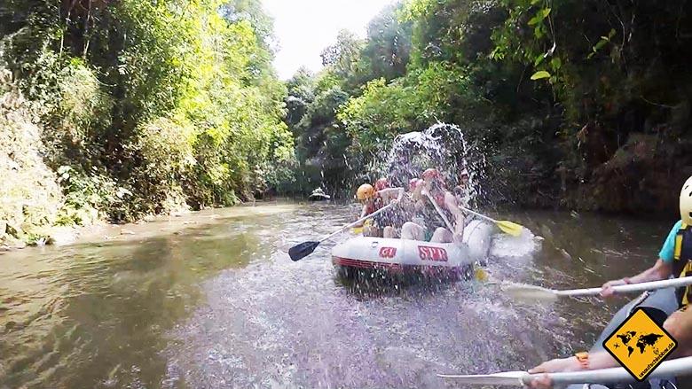Bali Rafting Bali - Wasserschlacht Chinesen