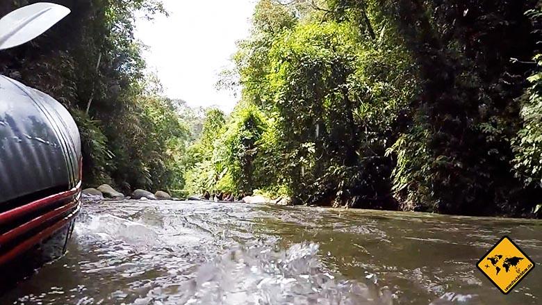 Bali Rafting Bali - seitliche Ansicht