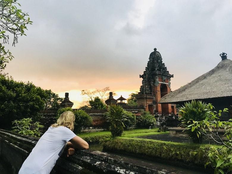 Bali Regenzeit Erfahrung wenig Touristen