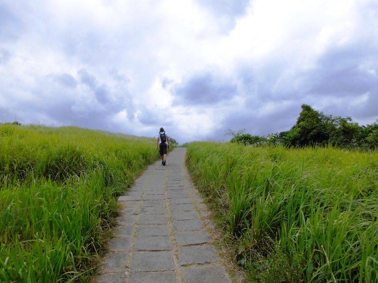 Bali Regenzeit einsame Wege