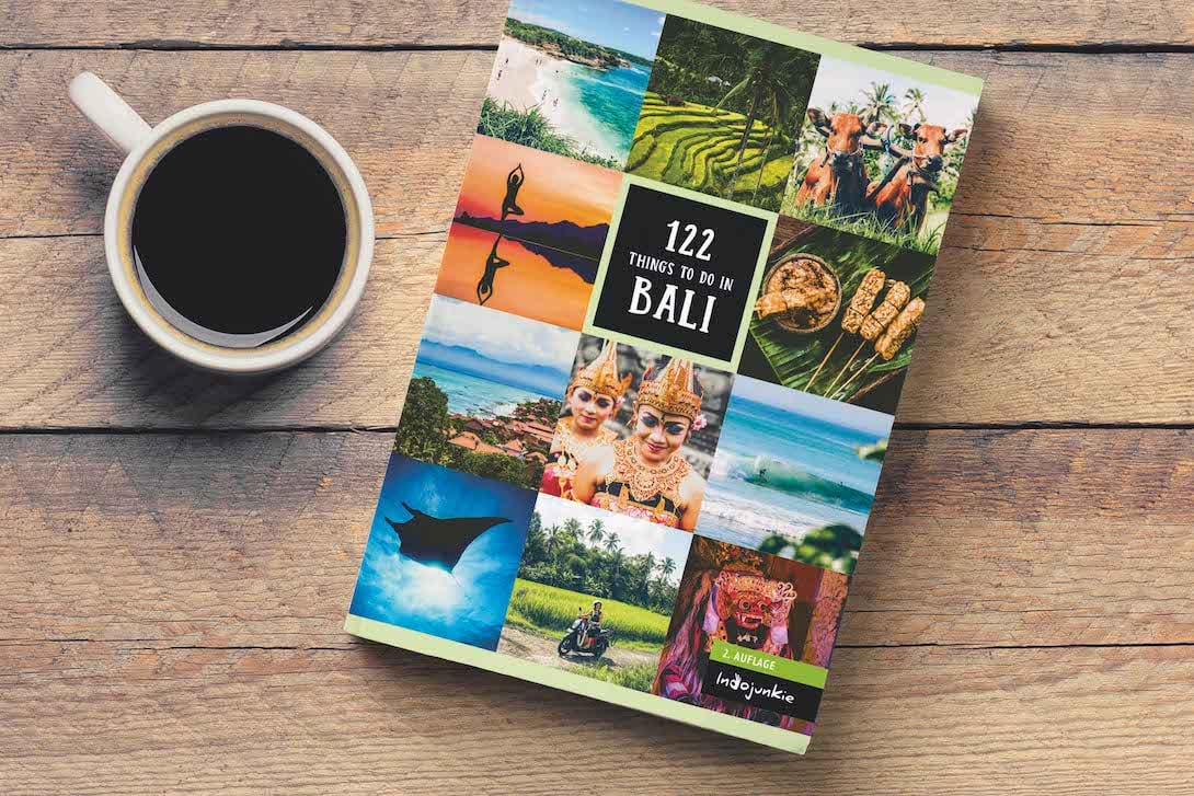 Bali Reiseführer 122 Things to do in Bali Cover Neuauflage