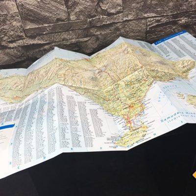 Bali Reiseführer DuMont Karte