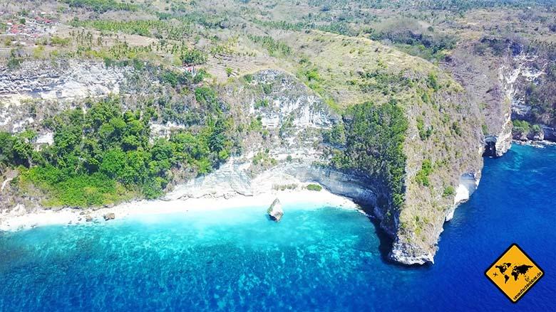 Bali Reisetipps Suwehan Beach Nusa Penida