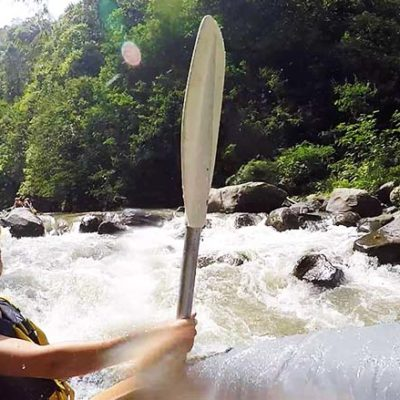 Bali Reisetipps Wildwasser Rafting Ubud