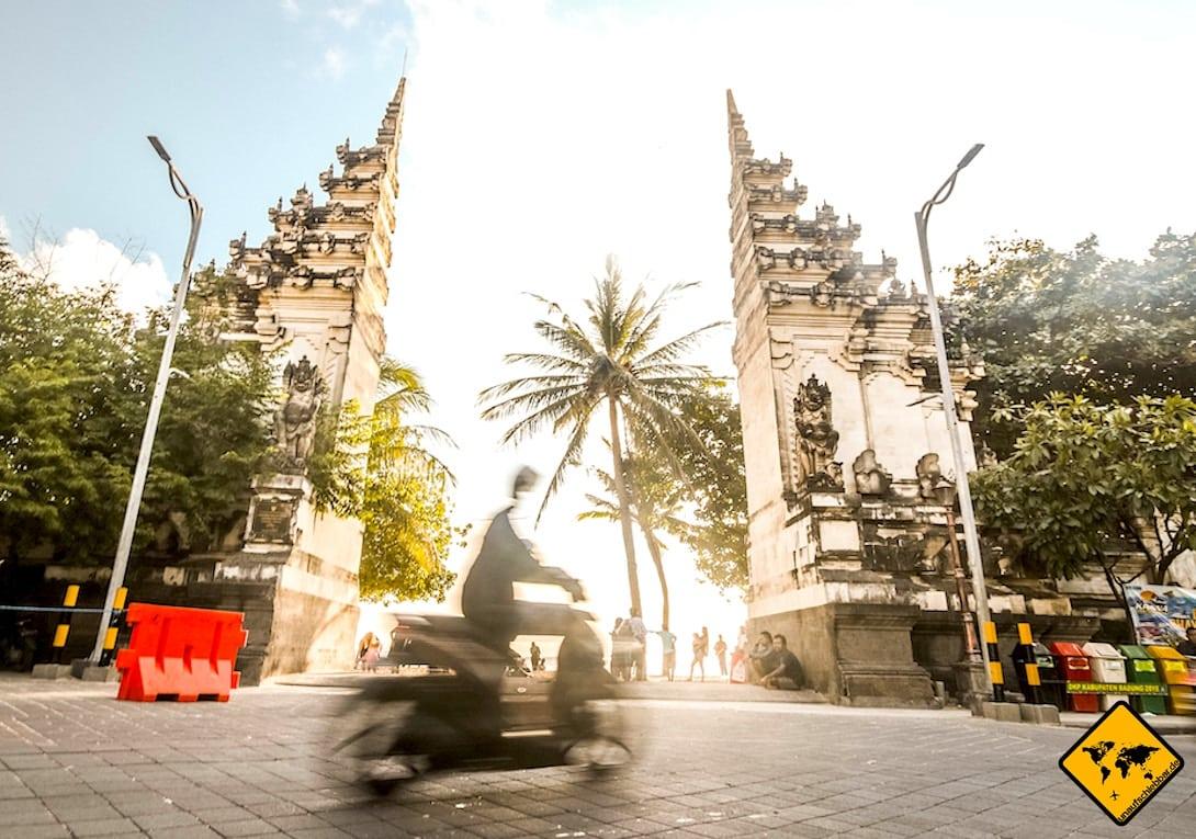 Bali Roller fahren Fortbewegung Nusa Dua