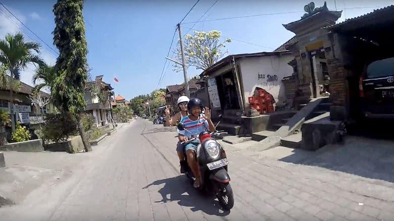 Bali Rollertaxi