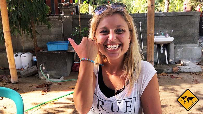Bali Schildkröten Schutzstation Armband
