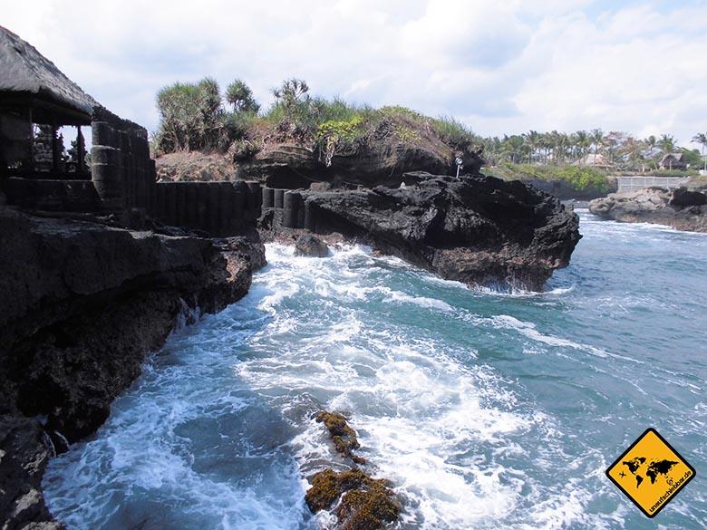 Bali Sehenswürdigkeiten top 10 Pura Gede Luhur Batu Ngaus Klippen