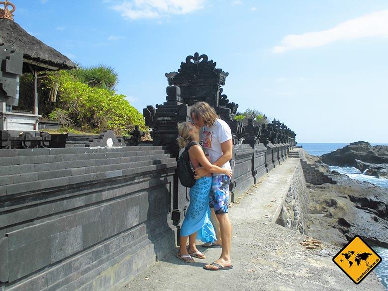 Bali Sehenswürdigkeiten top 10 Pura Gede Luhur Batu Ngaus Paar