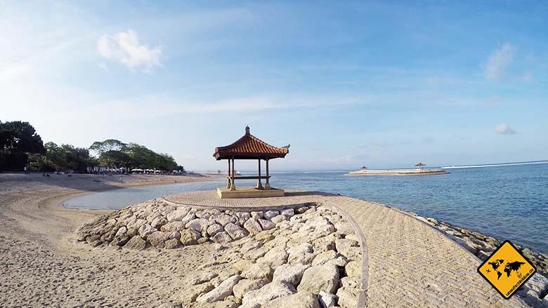 Bali Sehenswürdigkeiten top 10 Sanur Strand