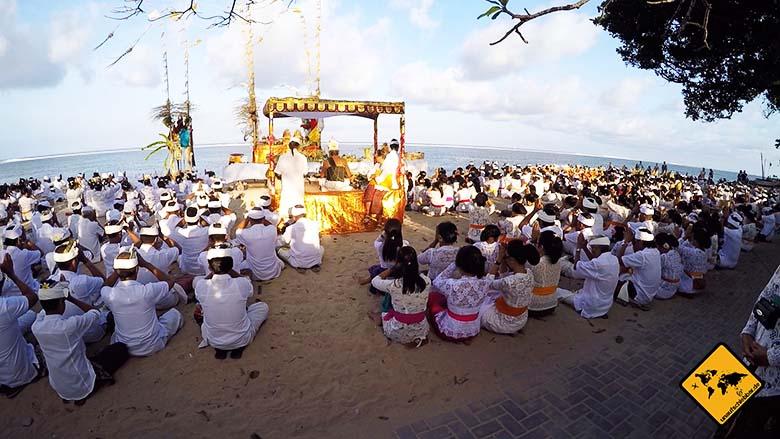 Bali Sehenswürdigkeiten top 10 Sanur balinesisches Fest