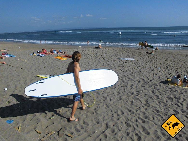 Bali Sehenswürdigkeiten top 10 Surfer