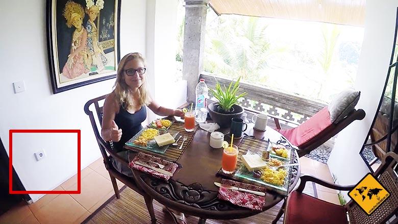 Bali Steckdosen Ubud